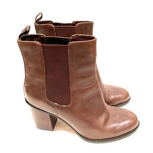 Brown Cole Haan Heeled Chelsea Boots
